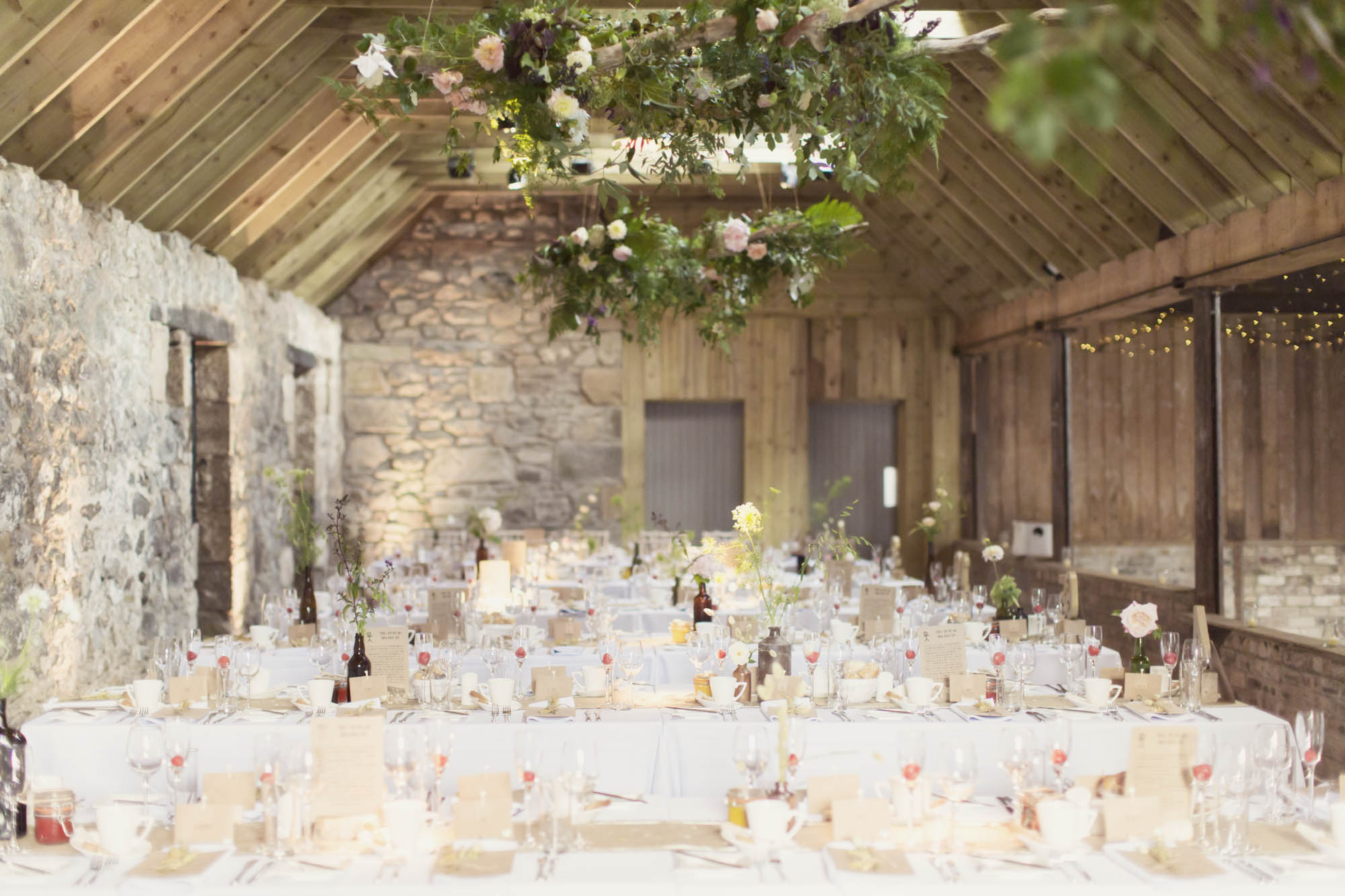 Wedding Barn Scotland  The Byre at Inchyra Perthshire  home