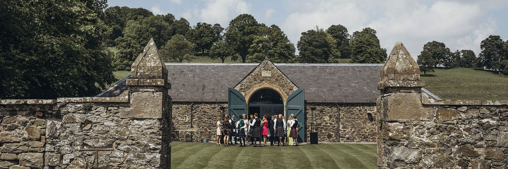 The Byre  flexible spaces set in 150 acres of the Inchyra estate