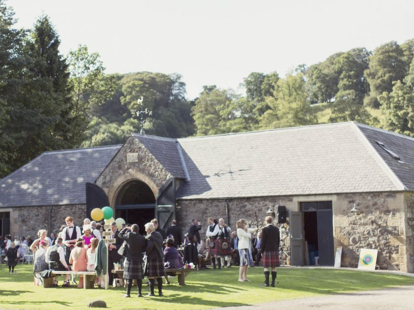 The Byre at Inchyra  Perthshire Scotland event  wedding barn  weddings barn scotland