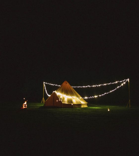 Go glamping at The Byre